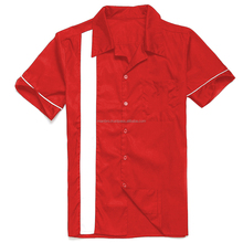 Bowling/Dart/Work Shirts for Men 100% Polyester Satin short sleeve, half sleeves and long sleeves Shirts also possible