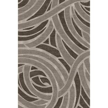 abstract design hand tufted wool silk carpet for hotel room