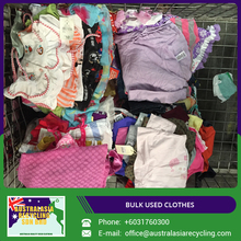 Various Types of Assorted Used Clothing from Australian Supplier