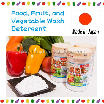Japan Food, Fruit, and Vegetable Wash Detergent made by Natural Scallop Shell 90g