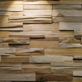 Recycle Teak Wall Panel - for sale per meter square