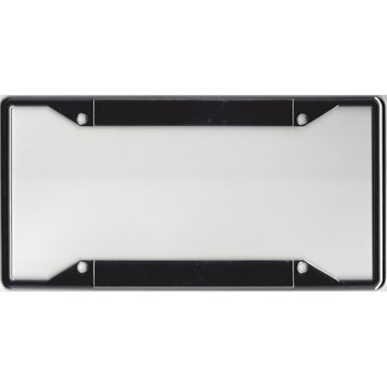 Every State Zinc Alloy Chrome Double Panel License Plate Frame