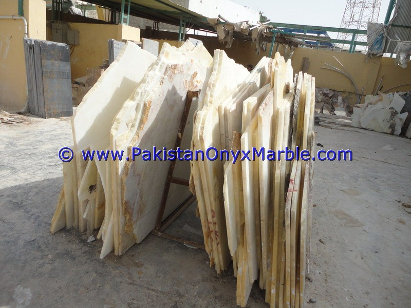 FACTORY PRICE PURE WHITE SNOW WHITE ONYX SLABS