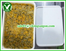 FROZEN PASSION FRUIT PULP WITH SEED / MARACUJA PULP_ FROM VIETNAM