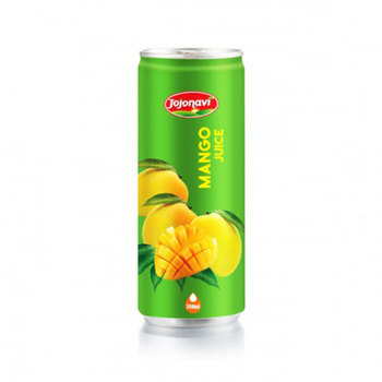 High Quality Wholesale fruit juice tropical 250ml canned Mango Juice drink