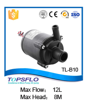 12v 24V dc brushless quiet coolers water pump
