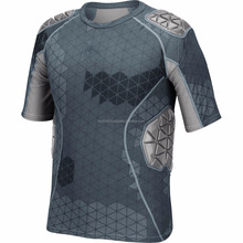 Men's Techfit 5 Pad Padded Shirt / Compression shirt