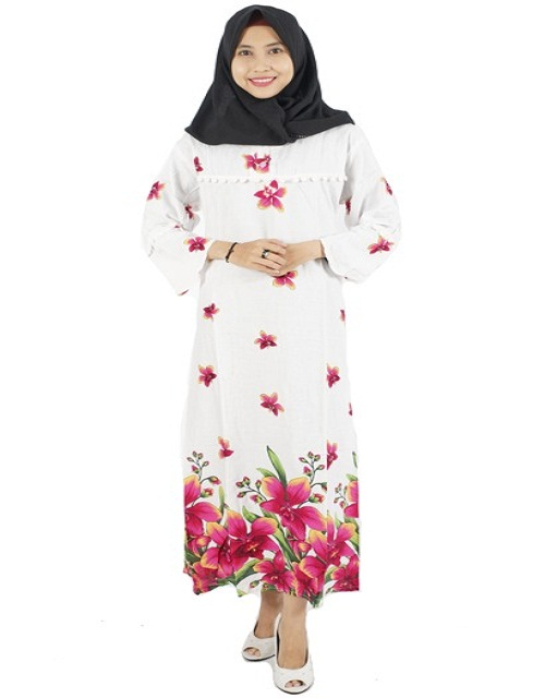 Best Indonesian Selling Muslim Kaftan Dress Clothing Cotton Fresh Design