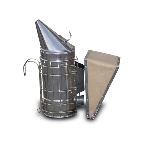 STAINLESS STEEL SMOKER WITH CAGE