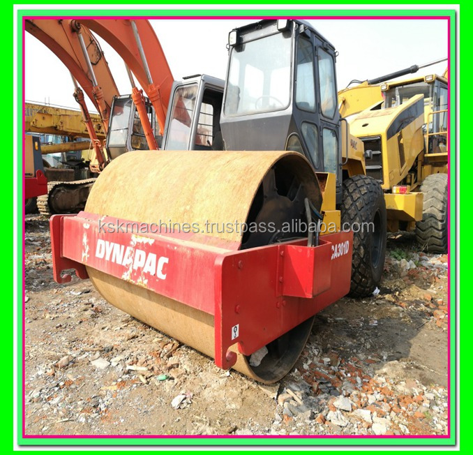 road roller dynapic CA301D used asphalt rollers for sale new roller price