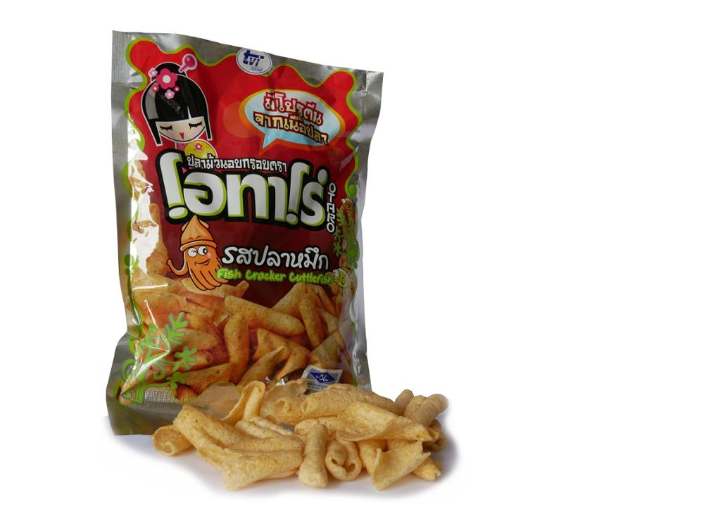 Fish cracker Crispy Fish Snack Seafood snack HALAL snack Thai snack