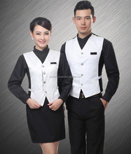 Fashion uniform designs for hotel staff