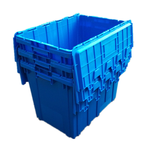 Heavy duty plastic moving box large storage box
