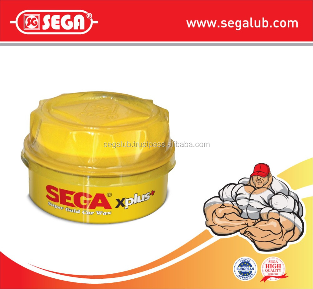 SEGA SUPER GOLD PASTE CAR WAX