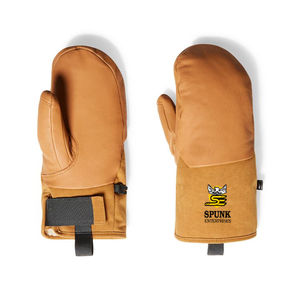 Premium quality insulated leather cooking work gloves