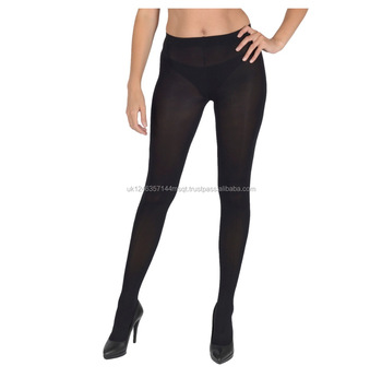 Black Tights, Pantyhose Microfibre 100 Denier UK