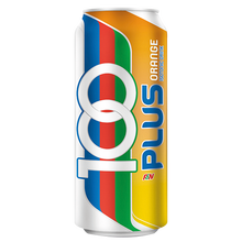 F&N 100Plus Orange Carbonated Can Isotonic Drinks