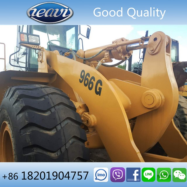Low price used CAT Front Loader 966G
