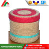 Bangladeshi 100% cotton dyed printed oem acecptable handicraft jute basket