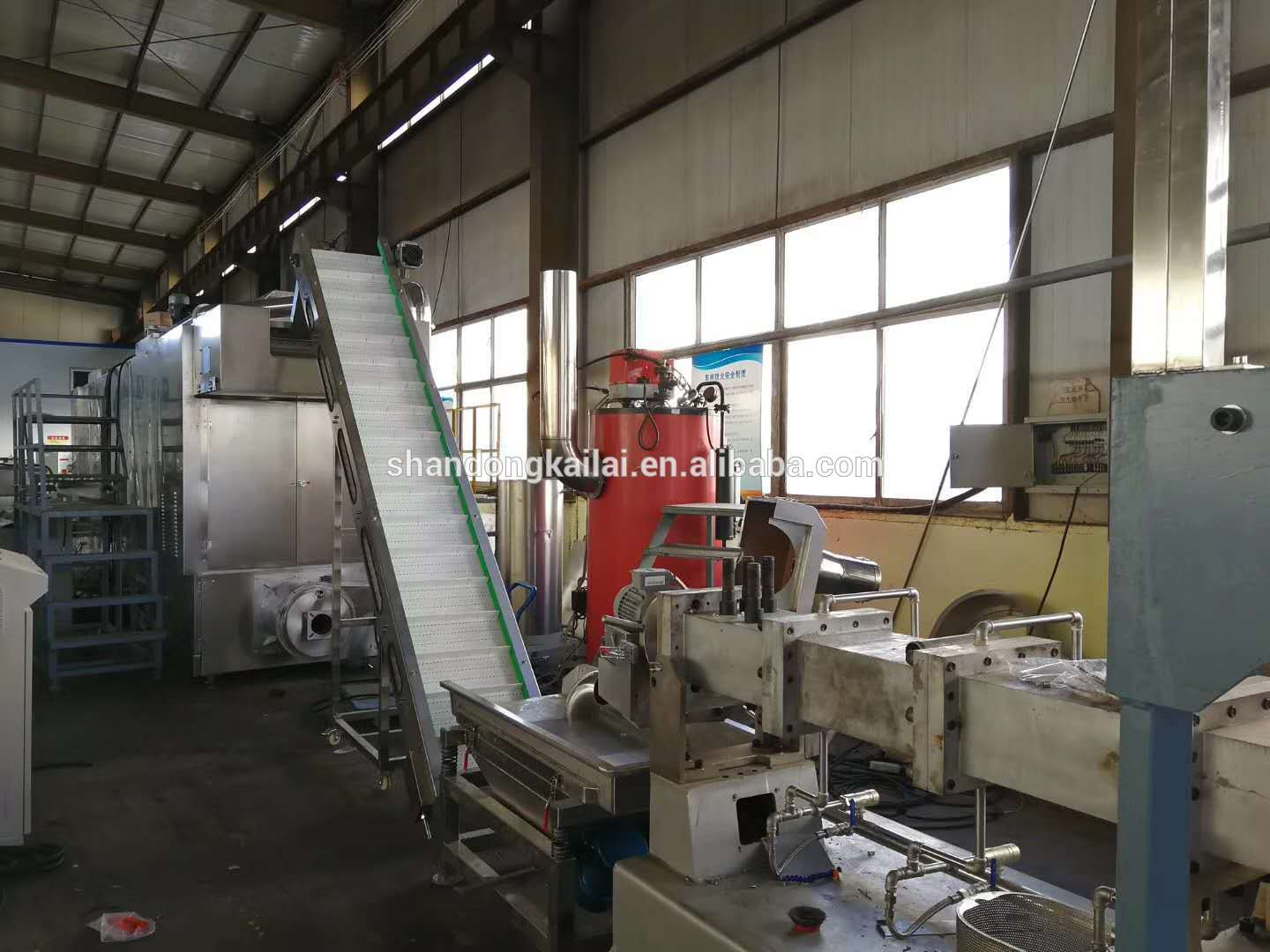 China Dog Chew Bone Snack Food Extruding Manufacturer Machine