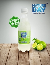 Natuer Day Lime Soda with active herbs