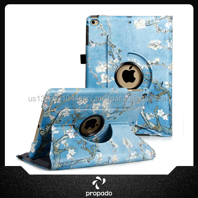Protective Shell Smart Folding Stand PU Leather Case Cover For Ipad Air 2