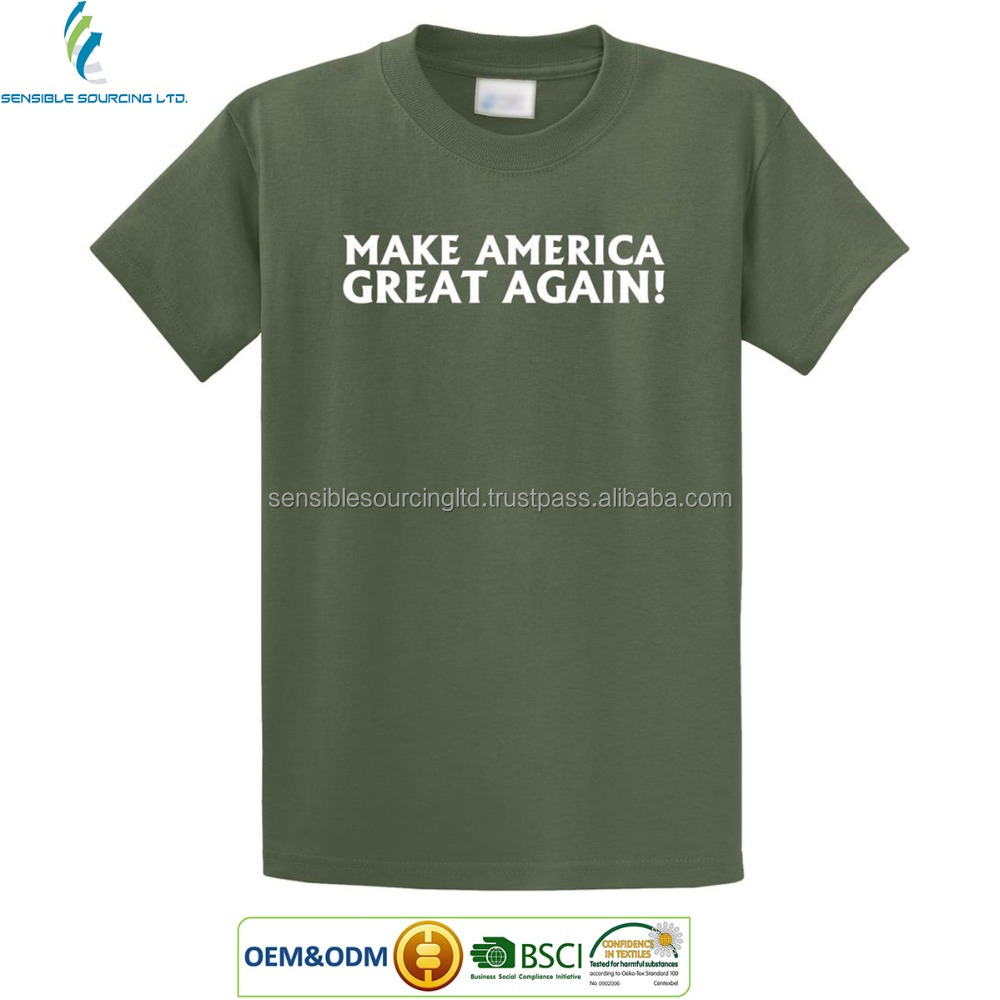 Make America Great Again Election / campaign/ Promotional t shirt Factory Wholesale