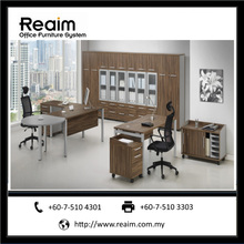 Modular Office Furniture Executive Desk - Forward - Made in Malaysia