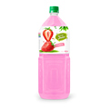FDA, Halal, Haccp, ISO VietNam Whosaler beverage drink strawberry juice drink 2000ml big Volum