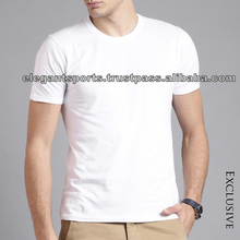 Plain White Wholesale Round neck T-shirt