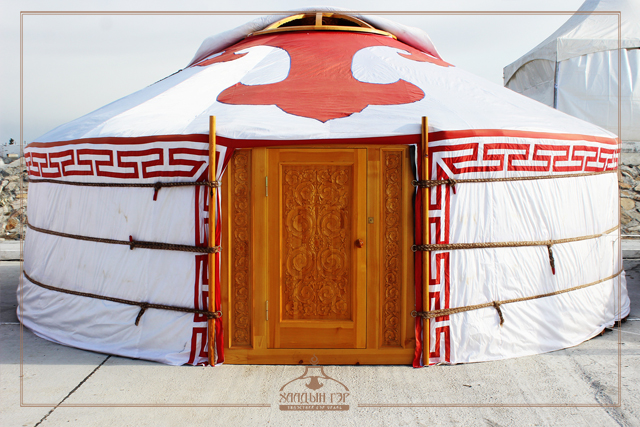 Triple Layered Wooden Framed Eco Mongolian Decorative Yurt