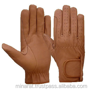 Customize Horse Riding Gloves Leather Horse riding gloves