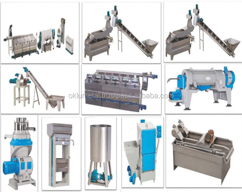 OLIVE OIL PRODUCTION LINE (Capacity 80 t/day)