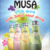 Milk Drink with Basil Seed MUSA brand glass bottle 290ml