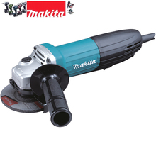 Makita Electric Angle Grinder with AC/DC Switch