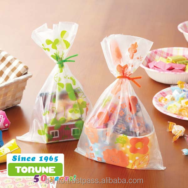 Food Wrapping Japan Design bakery plastic bags for Restaurant or Retail Online Shop