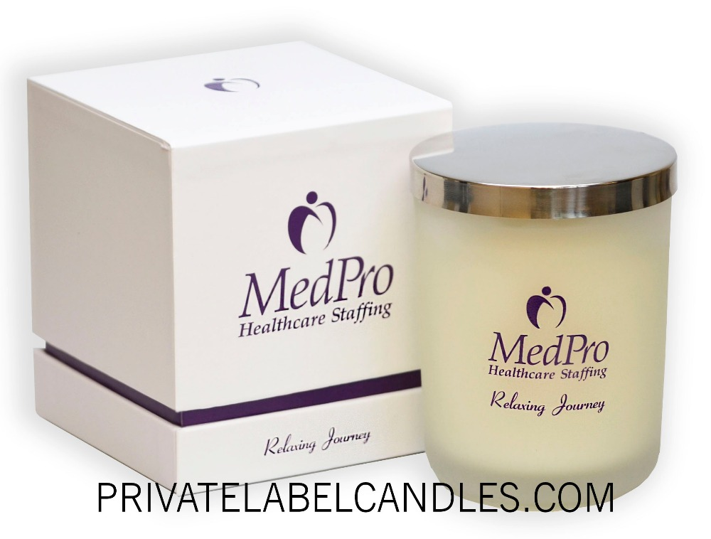 8.5 Oz. - PRIVATE LABEL Scented Candle Made in USA