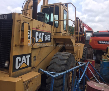 used CAT loader 966E hot sale