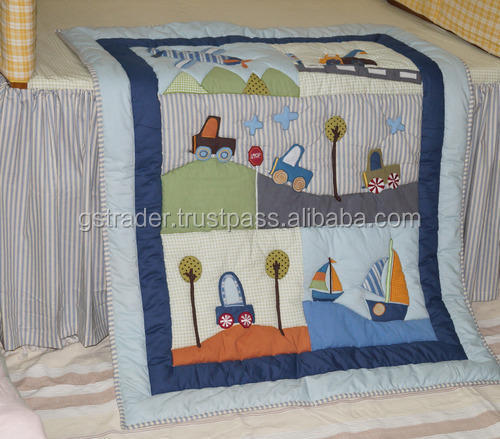 Hot Sale Quilt Cover Set for Cotton Baby Quilt