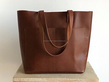 Fancy Leather Tote Bags/ Popular Stylish Leather Bags/ Custom Design Leather Tote Bags/ Leather Baby Bags/ Leather Bag For Women