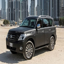 ARMORED NISSAN PATROL SUV - B6 for DUBAI : IRAQ : AFRICA ARMORED VEHICLE