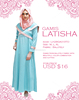 High Quality 2017 Gamis Latisha Islamic Clothing