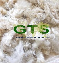 100% Greasy Morocco Tunisia Sheep Wool 60-70 Mm Natural White Color