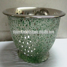 Deep Colander with Stainless Steel.