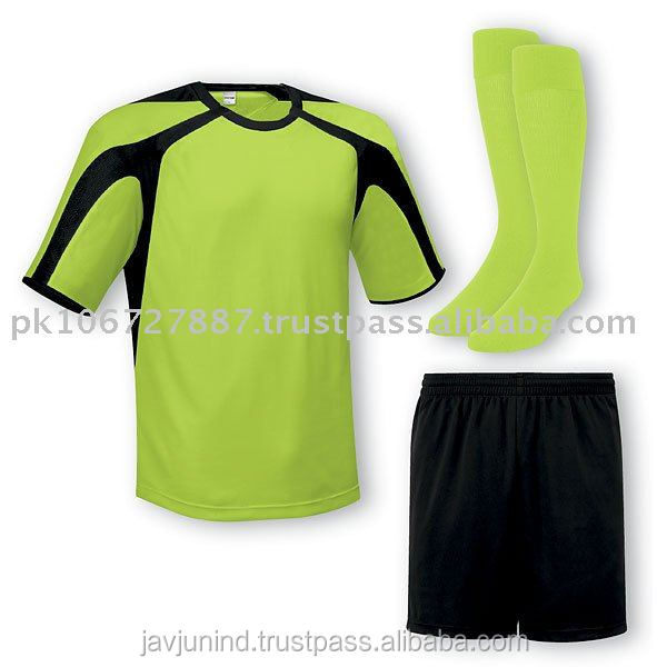 Professional Best Quality Soccer Team Uniform/ Latest Soccer Set