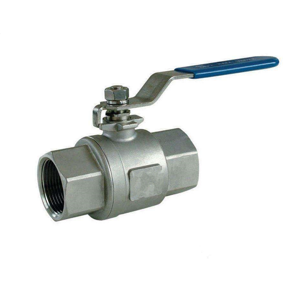 SS304 cf8 Two -piece ball valve (2P) Screw NPT