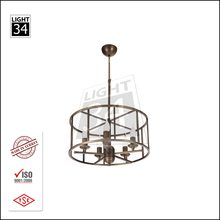 Round E14 Lamp Holder Modern Pendant Lamps For Home Modern Chandelier