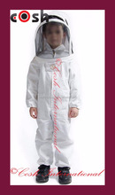 Children Beekeeping Coverall Hooded Bee Suits/Beekeeping Suits