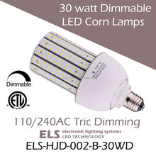 30 watt LED Dimmable Corn Lamps 100w metal halide led replacement E26 Edison Base
