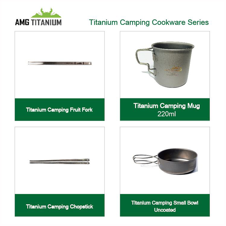 Titanium Camping Spoon Outdoor Cookware Backpacking Hiking Picnic Trekking Solo Camping Grade 2 Titanium by POSCO